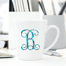 Amazon Com Letter B Monogram Initial Vinyl Decal Personalized Monogrammed B Sticker For Yeti Cup In 2020 Monogram Initials Monogram Vinyl Decal Yeti Cup Stickers