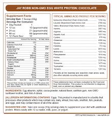 egg white protein 24 oz bag