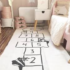 Baby Hopscotch Play Game Mat Kids Activity Play Gym Mat Child Adventure Car Rug Boy City Road Carpet Kids Room Crawling Blanket Happy Baby Mama
