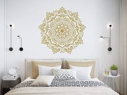 Mandala Wall Stickers Mandala Lotus De Buy Online In Guernsey At Desertcart