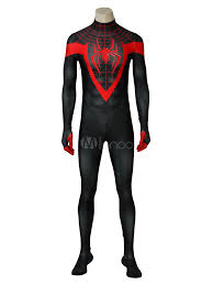 Spider Man Into The Spider Verse Aaron Davis Prowler Halloween Cosplay  Costume - Milanoo.com