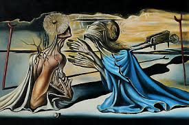 Salvador Dali Tristan And Isolde Canvas Or Print Wall Art Ebay