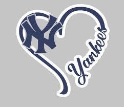 I Heart Yankees Decal E A Vinyl Designz
