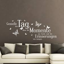 German Stickers Quote Geniebe Den Tag Vinyl Wall Decal Wall Art Decor Living Room Home Decor Office Wall Poster House Decoration Wall Stickers Aliexpress