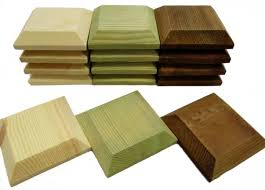 Wooden Post Caps For 3x3 Or 4x4 Fence Posts Briants Of Risborough Ltd