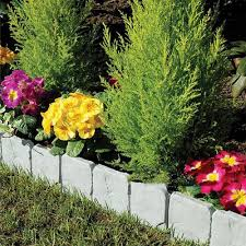 10x Garden Stone Effects Border Edging Gardening Path Flowers Grass Lawn Fencing Lazada Ph