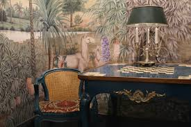 iksel scenic wallpaper hand painting
