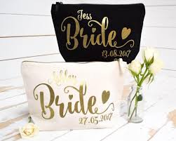 bride gift personalised gift make up