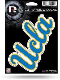 Amazon Com Ncaa Rico Industries Die Cut Vinyl Decal Ucla Bruins Sports Outdoors
