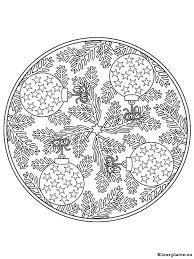Mandala Kerstmis Kleurplaat 619651 Kleurplaat