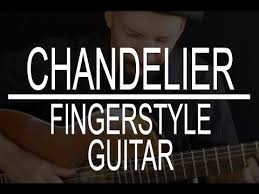 chandelier sia fingerstyle guitar