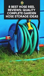 quality complete garden hose storage ideas