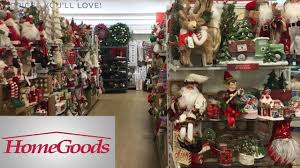 home goods christmas decor decorations