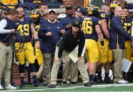Michigan football coach Jim Harbaugh 'thrilled' about Big Ten's return