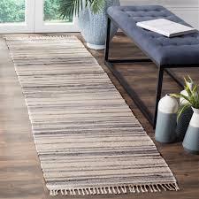 safavieh rag rug 2 3 x 8 cotton