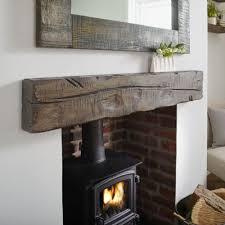 oak beam fireplace mantel solid oak