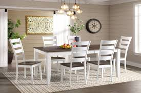 Kodi Solid Wood Dining Table 6 Side Chairs At Gardner White
