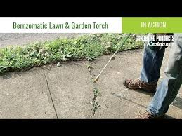 bernzomatic lawn garden torch in use