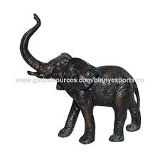 brass elephant statue on global sources