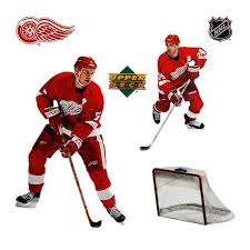 Nhl Detroit Redwings Self Stick Wall Accent Stickers Set Detroit Red Wings Target