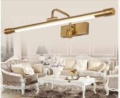 antique brass led wall lamps