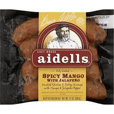 en sausage y mango jalapeno