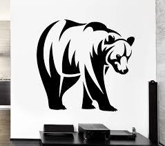Bear Decal Sticker Car Poster Vinyl Wall Decals Pegatina Quadro Parede Decor Mural Wild Animal Sticker 719 Decal Sticker Sticker Carcar Decal Sticker Aliexpress