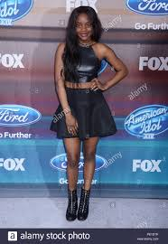 Adanna Duru 140 at the American Idol XIV Finalists Party 2015 The ...