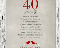 40 anniversary poem es esgram