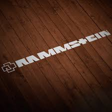 Rammstein Stickers Muraldecal