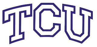 Ncaa0105 Horned Frogs Big Tcu Outlined Die Cut Vinyl Graphic Decal Sticker Ncaa