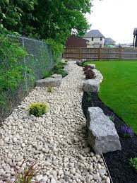 landscaping with river rock ideas