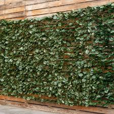 Goplus 59 X118 Faux Ivy Leaf Decorative Privacy Fence Screen Artificial Hedge Fencing Walmart Com Walmart Com