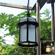 waterproof led pendant birdcage hanging