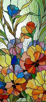 beautiful stained glass window of