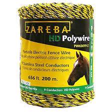 Zareba 200 Meter 9 Conductor Portable Electric Fence Polywire Pw656y9 Z At Tractor Supply Co