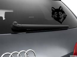 Wolf Werewolf Car Sticker Styling Window Decal Black Ebay