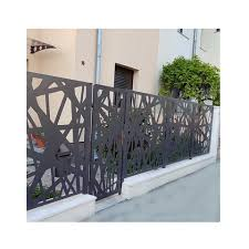 Custom Outdoor Perforated Aluminum Fence Panel Decorative Laser Cut Metal Fencing Panels Outdoor Privacy Fence Panels Wholesale Garden Buildings Products On Tradees Com