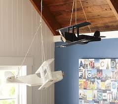 Hanging Wood Planes Room Themes Baby Boy Rooms Boy Room