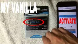 myvanillacard vanilla visa gift card