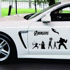 Jeep Iron Man Avengers Car Truck Vinyl Decal Sticker Jeep Wrangler 8 Colors