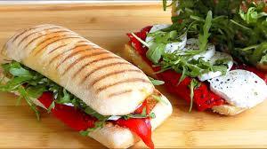 panini easy snack food recipe