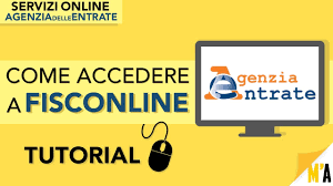 Come Richiedere PIN FISCONLINE (TUTORIAL) - Servizi Online AGENZIA ...