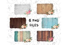 Sublimation Wood Background Png Bundle Rustic Watercolor Frame Design By Mockupstation Thehungryjpeg Com