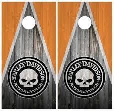 Cornhole Bag Toss Oakland Raiders Skull Cornhole Board Game Decal Laminated Wraps Vinyl Set Sporting Goods Cub Co Jp