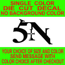 Nine Inch Nails Sin Nin Logo Car Laptop Guitar Vinyl Decal Sticker 3 49 Picclick
