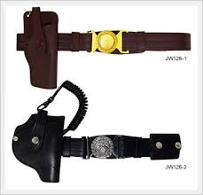 military army police belt leather