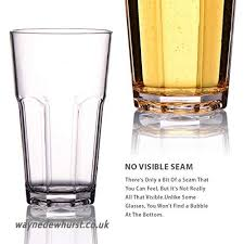 unbreakable stemless beer glasses