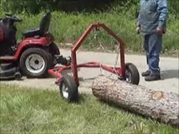 diy build your own log skidder