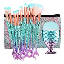 11pcs tail mermaid makeup kit full